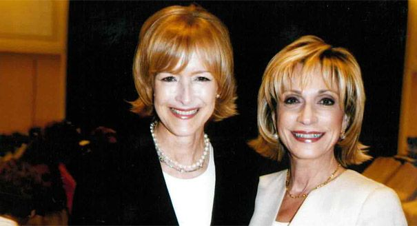 "Andrea Mitchell on Judy Woodruff: ""An unflappable anchor with a huge heart""  