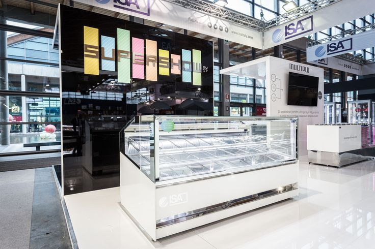 Supershow   #ISA #icecream #gelato #pastry #foodandbeverage #Sigep #Rimini #Italy #Madeinitaly #displaycabinet #bar #design