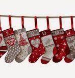July 24 - Christmas in July - Stocking Advent Calendar/Mini Stocking Ornament www.sergesew.com