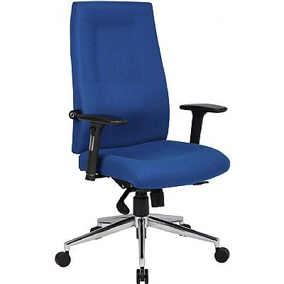 Mode 400 Managers Fabric High Back Chair