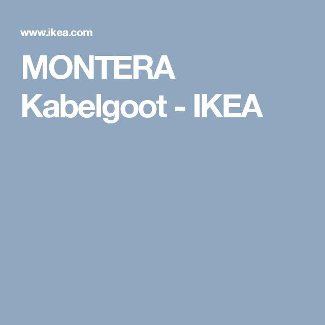 MONTERA Kabelgoot - IKEA