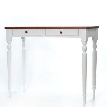 Toaletní stolek Milton Walnut, 100x42x82 cm | Bonami