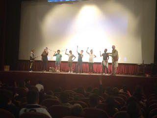 """28 maggio 2015 Teatro Astra spettacolo """"Loro (l'oro) del CER"""" Consorzio Di Bonifica della Romagna. Il giorno 28 maggio le classi 1A, 2A, 1B, 2B, 1C, 2C, 1D, 2D, 1E, 2E si sono recate al Teatro Astra per assistere allo spettacolo Teatrale """"Loro (l'oro) del CER"""" offerto dal Consorzio di Bonifica della Romagna-CER."""