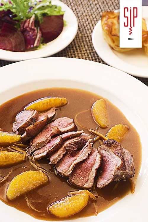 Duck à l'orange, bon appétit!