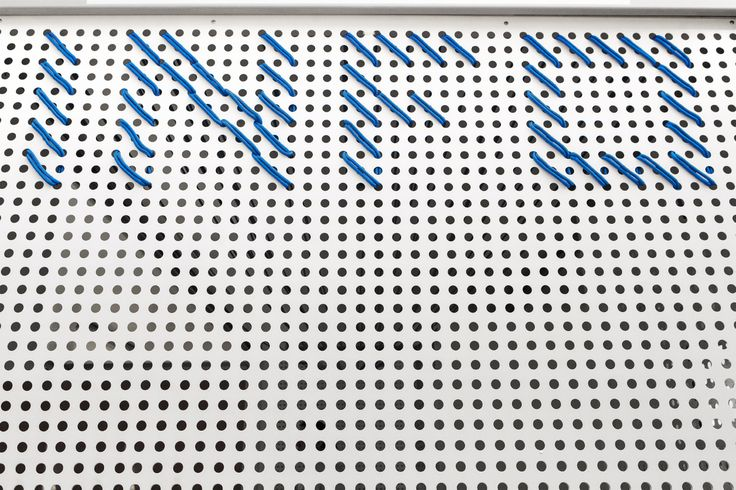 ECS' opening 2014 / event arrangement / Semi-translucent pavilion walls with identification made of ropes / fot. szajewski.com