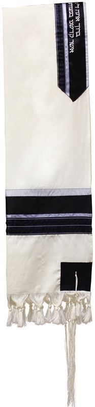 Tallit Wool Blue