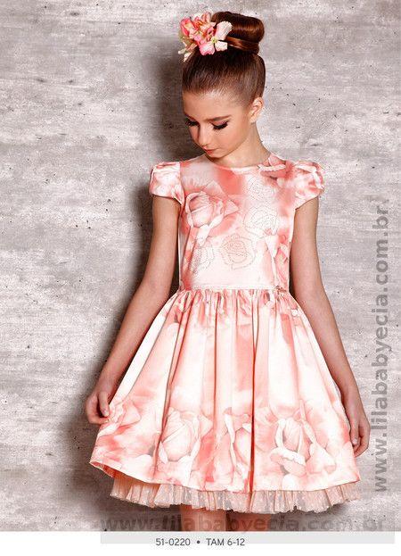 Vestido Infantil Miss Cake Doce Princesa 510220