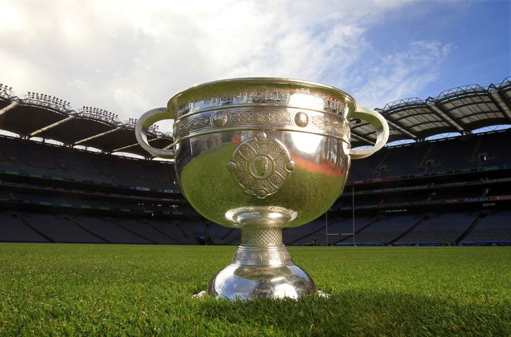 "The Sam Maguire Cup, often referred to as Sam or The Sam (Irish: Corn Sam Mhic Uidhir), is the cup awarded to winners of the All-Ireland Senior Football Championship, the premier ""knockout"" competition in the game of Gaelic football played in Ireland."