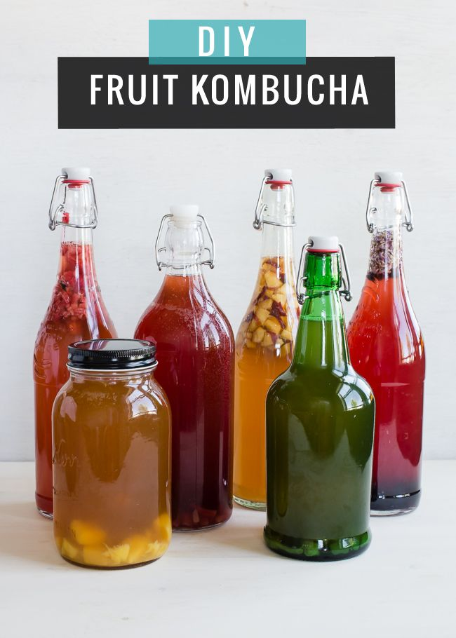 HOW TO: Make Continuous Brew Kombucha (  6 Flavor Ideas) | http://hellonatural.co/continuous-brew-kombucha/