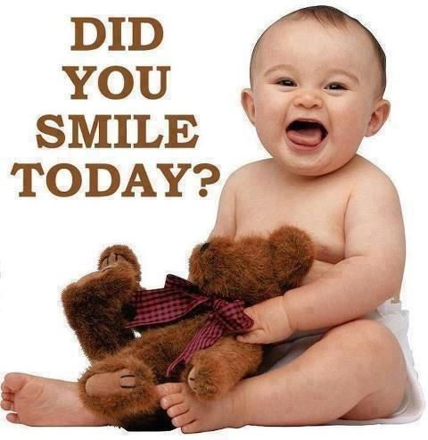 Did you smile today :))