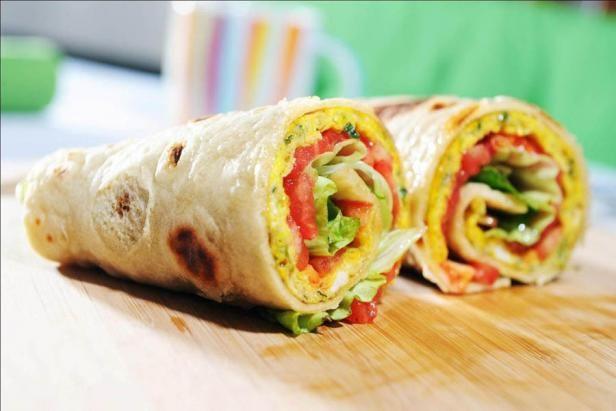 Tortilja s frtaljo (Tortilla with omelette). Lovely palette of colours and tastes.   #ZeleniPonedeljek #Dinner #Recept