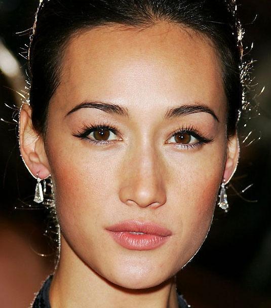 Maggie Q beautiful makeup