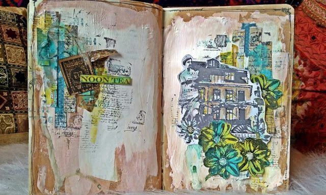 PaperArtsy: 2017 #5 Tea in the Garden {by Kate Yetter}