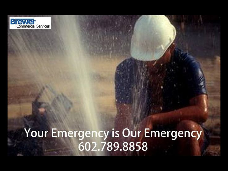 Your emergency is our emergency! Call 602.789.8858 for #plumbingemergencies