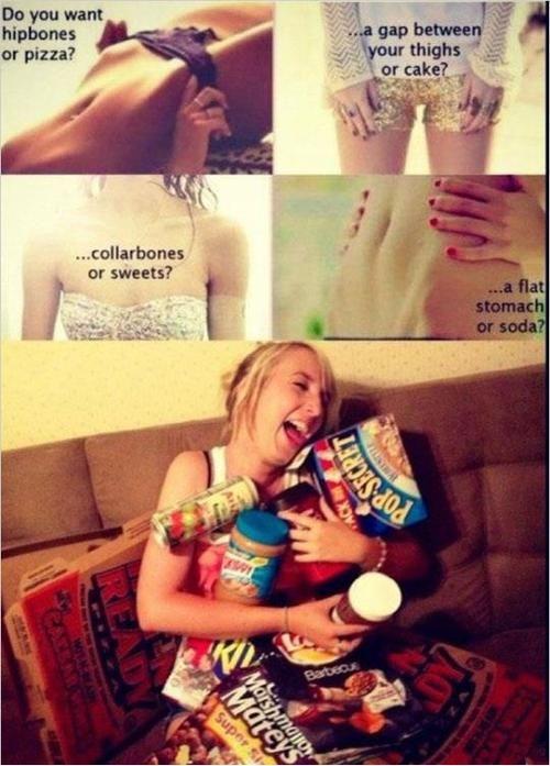 This is my life. Lol: Thighs Gap, Flats Stomach, Hipbon, Hip Bones, My Life, Funny, Junk Food, True Stories