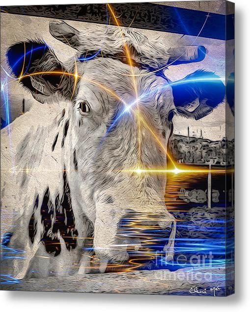 Sacred Cow Acrylic Print By Eleni Mac Synodinos