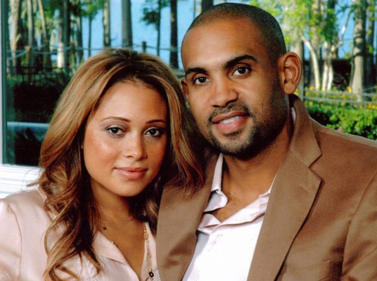 Tamia & Grant Hill; Married 1999