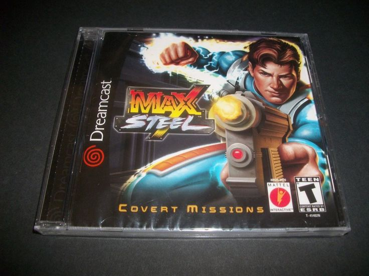 Brand New Sealed Sega Dreamcast Max Steel Game Mint Rare *FREE SHIPPING