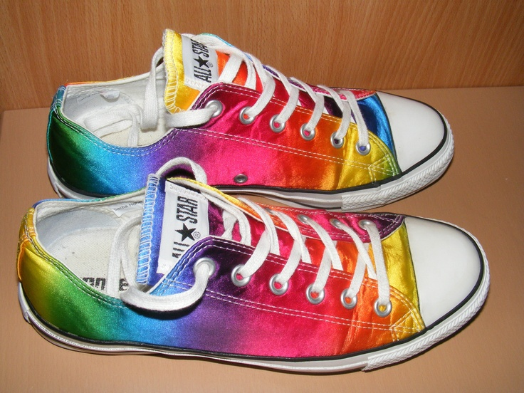 CONVERSE ALL STAR MULTI COLOURED TRAINERS PUMPS
