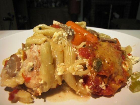 Slow Cooker Chicken Lasagna Recipe - Genius Kitchensparklesparkle