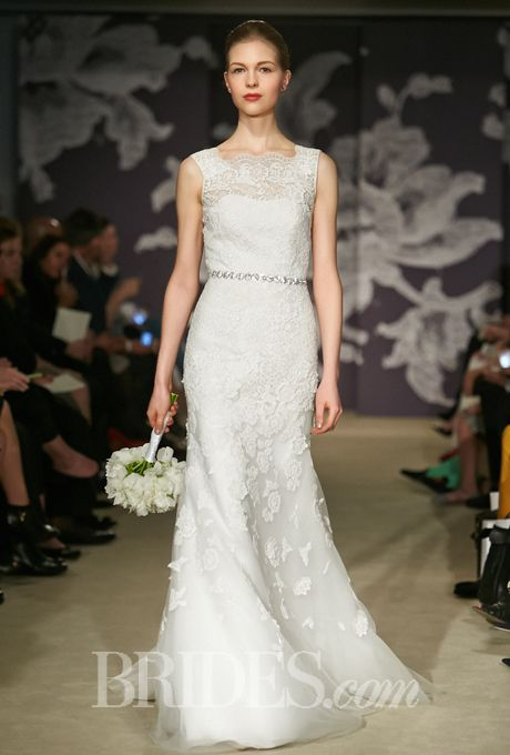 Brides.com: Carolina Herrera - Spring 2015. Wedding dress by Carolina Herrera