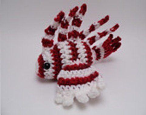Crochet lion fish