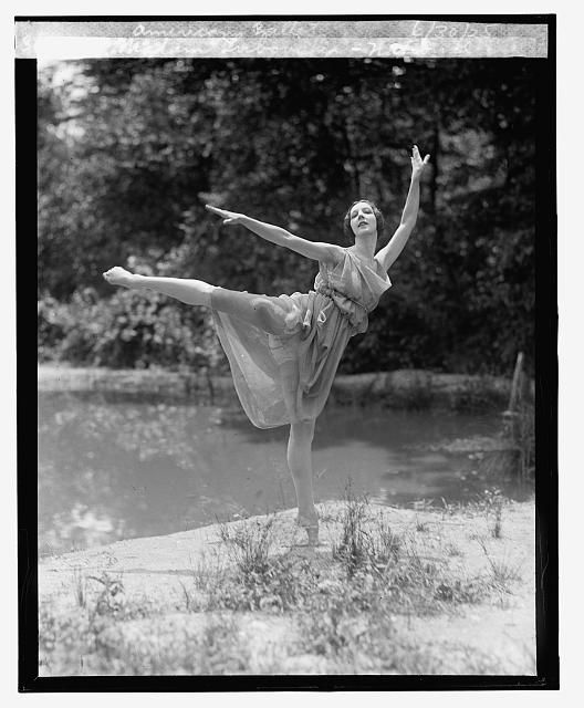 Madam Lubouska, National American Ballet Photograph, June 30, 1925. National Photo Company Collection, Library of Congress Prints and Photographs Division.