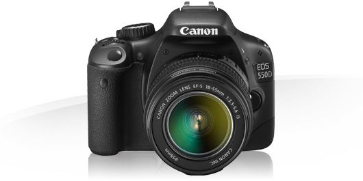 MY CAMERA CANON EOS 550D