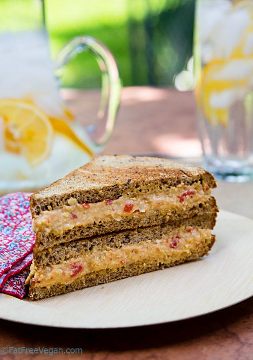 Pimento Cheese-Style Hummus is perfect for sandwiches, wraps, and just dipping.