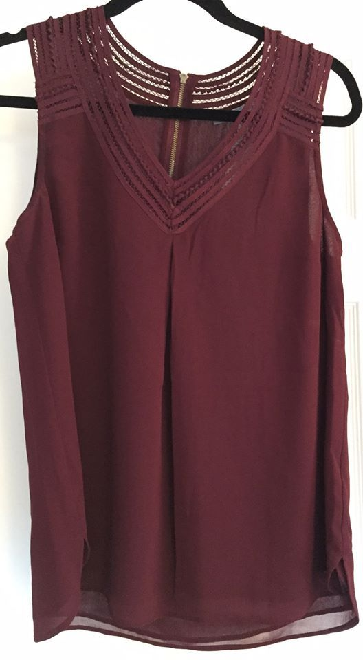 Daniel Rainn Dorado V-Neck Blouse  love the look- maybe in a color that will transition to spring