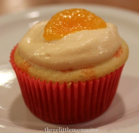 Orange Creamsicle Cupcakes | Just Cupcakes | Pinterest