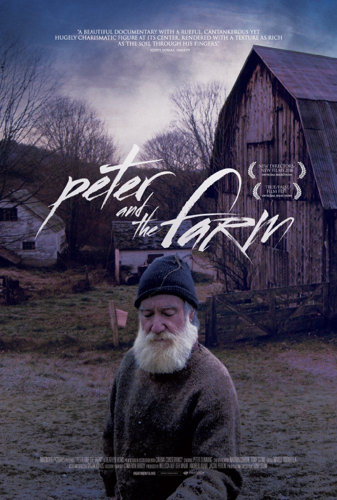 Peter and the Farm (2016) Film Poster