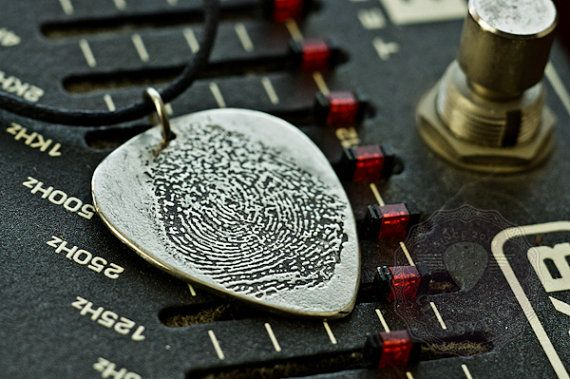 Fingerprint Jewelry   Personalized Childrens by AmulettaHu on Etsy