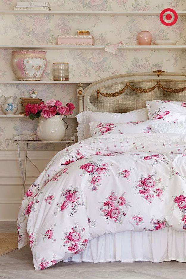 Best 25 shabby chic bedding sets ideas on pinterest for Diy shabby chic bedroom