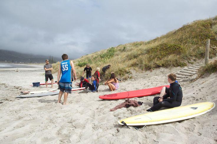 Aotea Surf School, Great Barrier Island, Hauraki Gulf, New Zealand