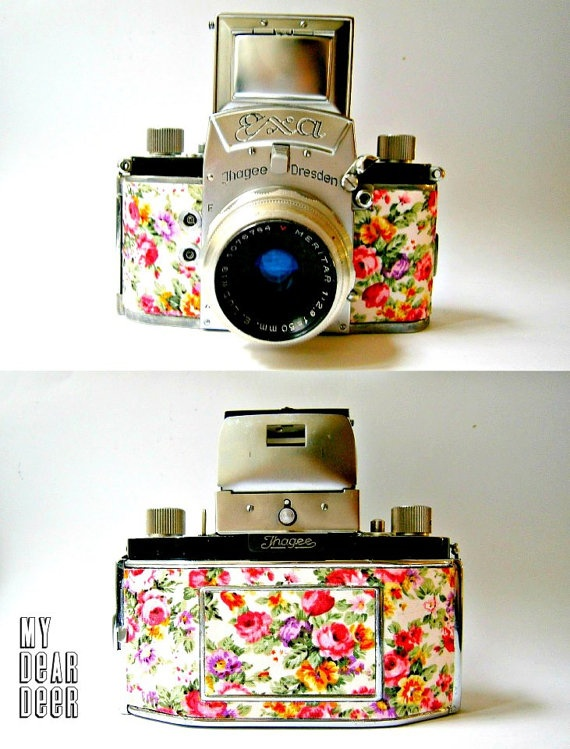 vintage camera EXA by Mydd on Etsy, €46.00. Omg i want this!!!!!!