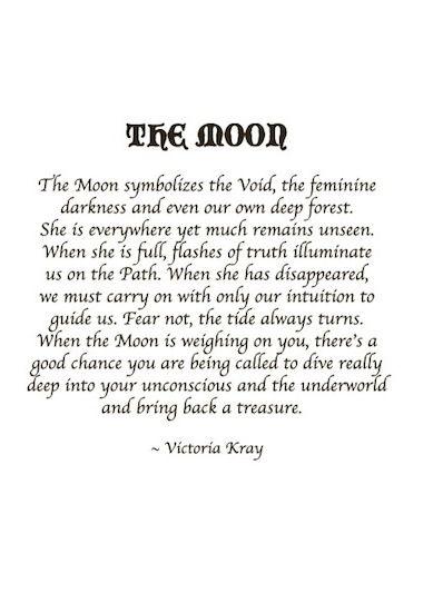 The Moon: I know it's a tad new agey for me. But it calls to my wild feminine side.