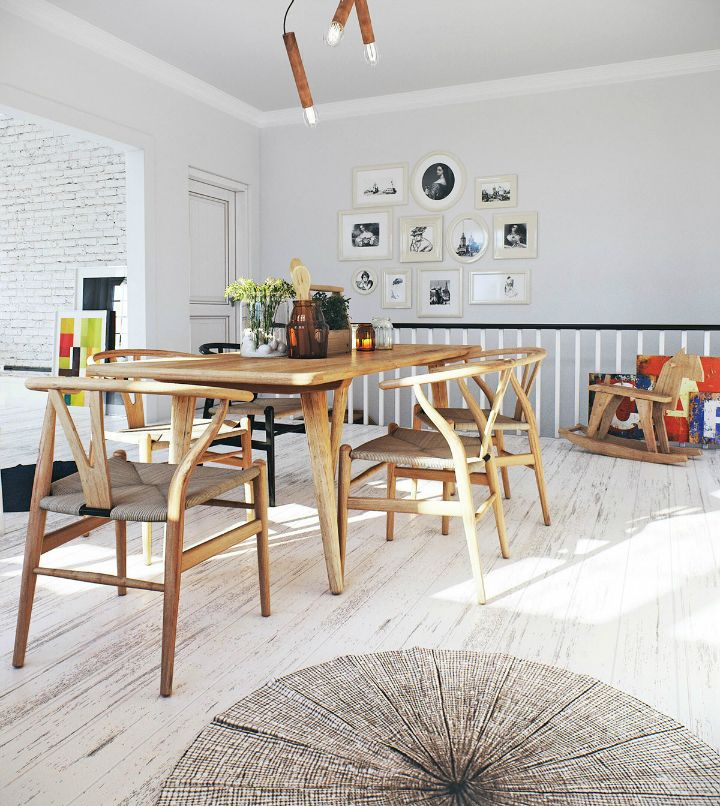 Scandinavian Apartment interior design by image box studio 14