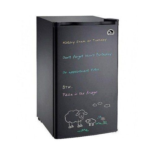Igloo Compact Refrigerator Freezer Mini Fridge with Dry Erase Board Door and Bonus Dry Erase Marker Starter Kit, 3.0 Cu Ft, Black ** You can find more details by visiting the image link. #CompactRefrigerators