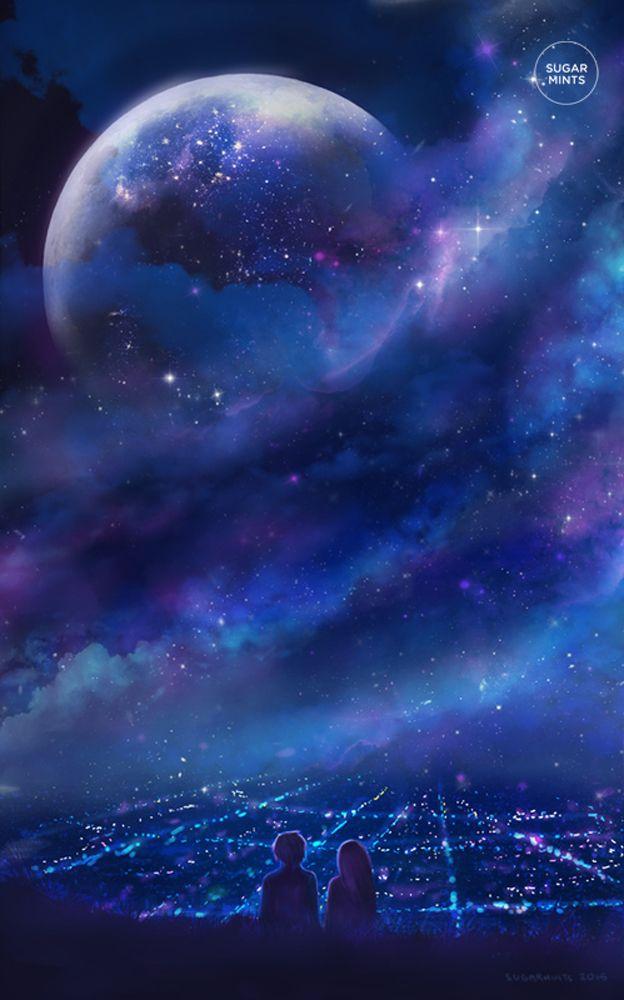 #noche #luna #JuntoATi
