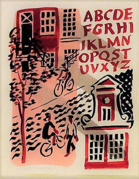 Painting, Alphabet Amterdam