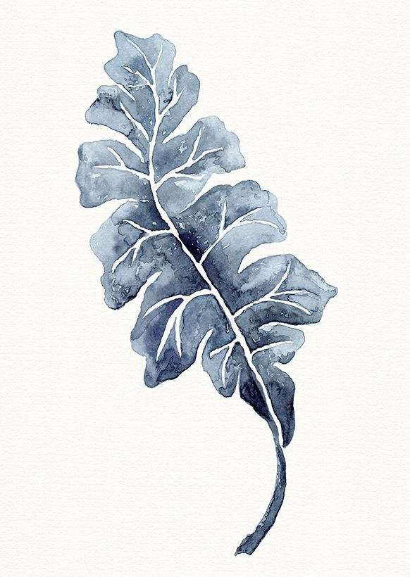 Watercolour Leaf Watercolor Painting Watercolor Flower