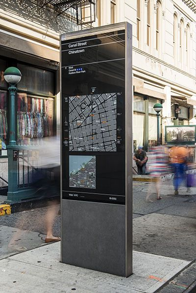 NYC Wayfinding by Pentagram , via Behance