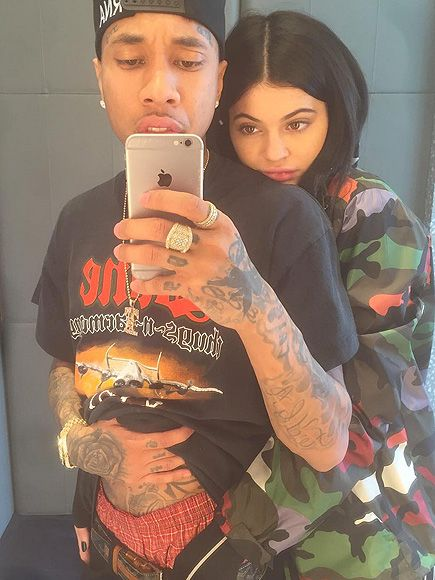 Tour Buddies: Kylie Jenner Cozies Up to Tyga After His San Francisco Performance