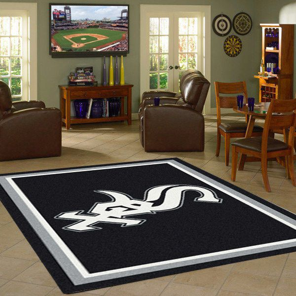 Chicago White Sox MLB Team Logo Spirit Rug