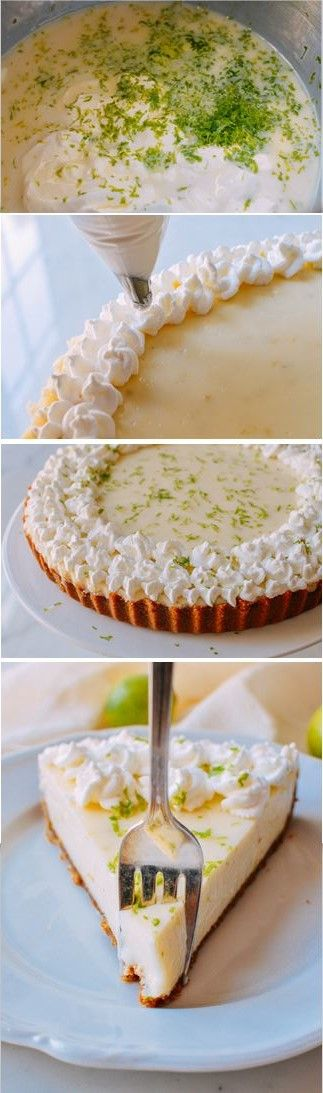 Key Lime Tart recipe by the Woks of Life, SO SO GOOD!