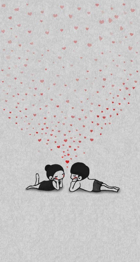소소한하루 예쁜 커플 배경화면 - 아이폰 / 아이폰 플러스 / 갤럭시 / 노트 : 네이버 블로그