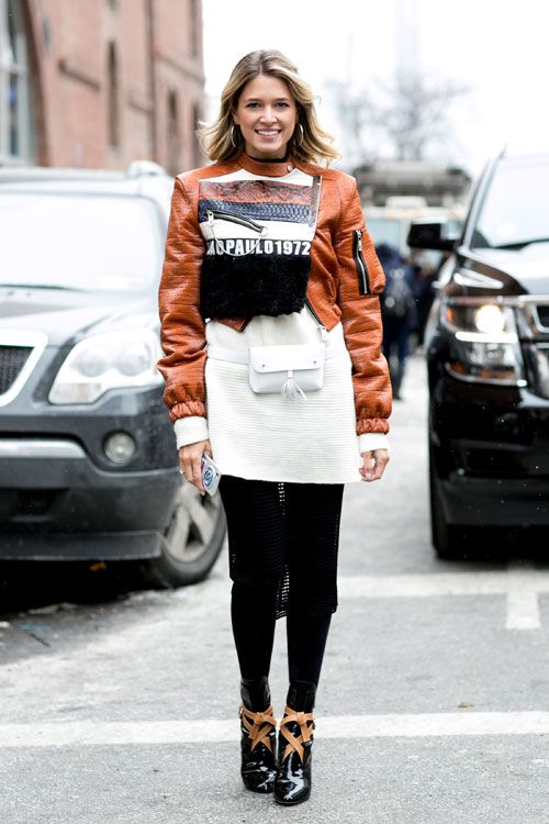 New York Fashion Week - Best streetstyle looks (15) - Elle.ro