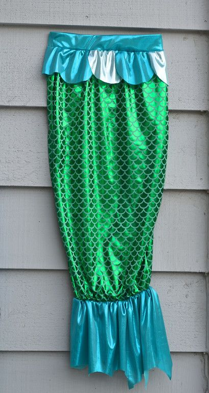 Mermaid postume - Zeemeermin kostuum