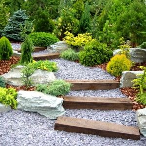slate chip garden path - Google Search